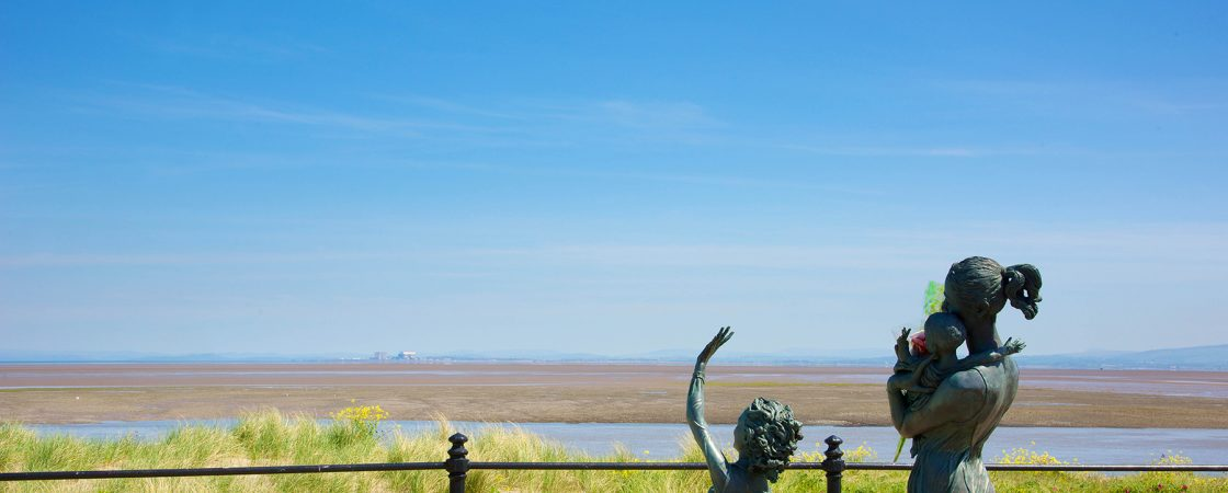 Sea view from Fleetwood