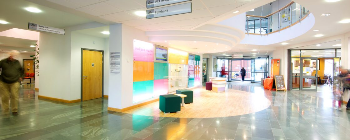 Internal view of Lytham Primary Care Centre