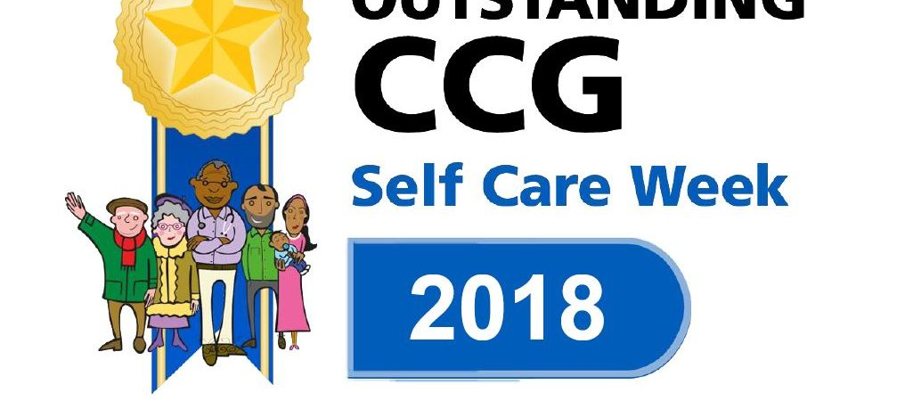 Outstanding CCG award for self care week 2018