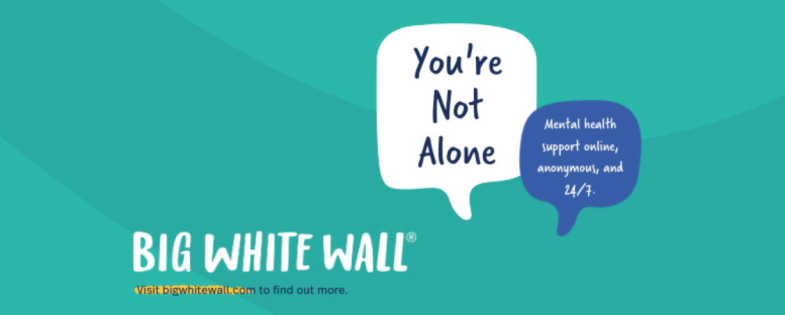 Big White Wall - You're not alone