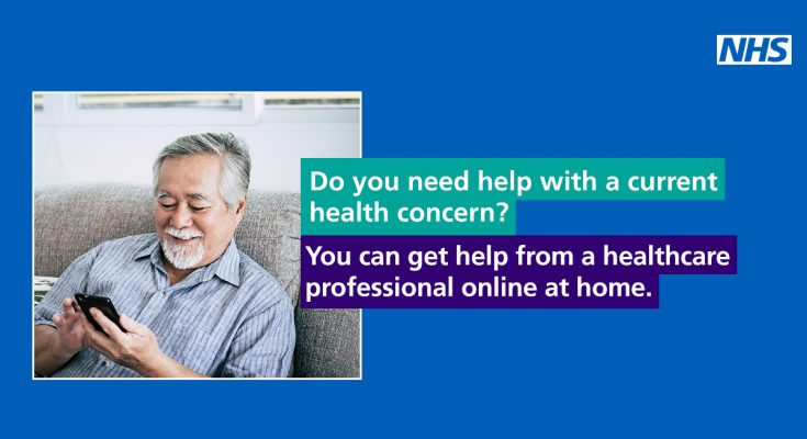 Do you need help with a current health concern? You can get help from a healthcare professional online at home.