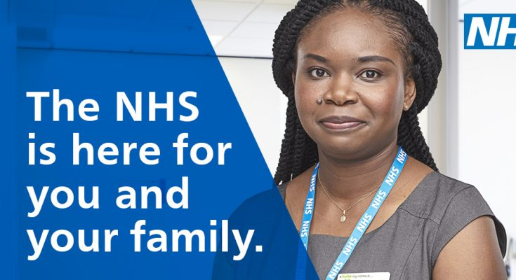 The NHS is here for you and your family