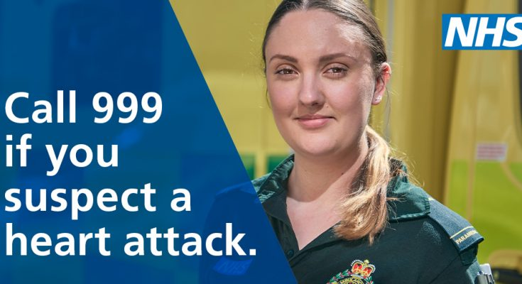 Call 999 if you suspect a heart attack
