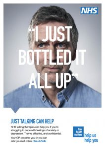 I just bottled it all up. Just talking can help. NHS talking theraphies can help if you're struggling to cope with feelings of anxiety or depression. They're effective and confidential. your GP can refer you, or you can refer yourself online at www.nhs.uk/talk