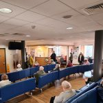 picture of busy waiting room