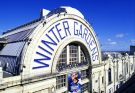 Exterior shot of the Winter Gardens in Blackpool