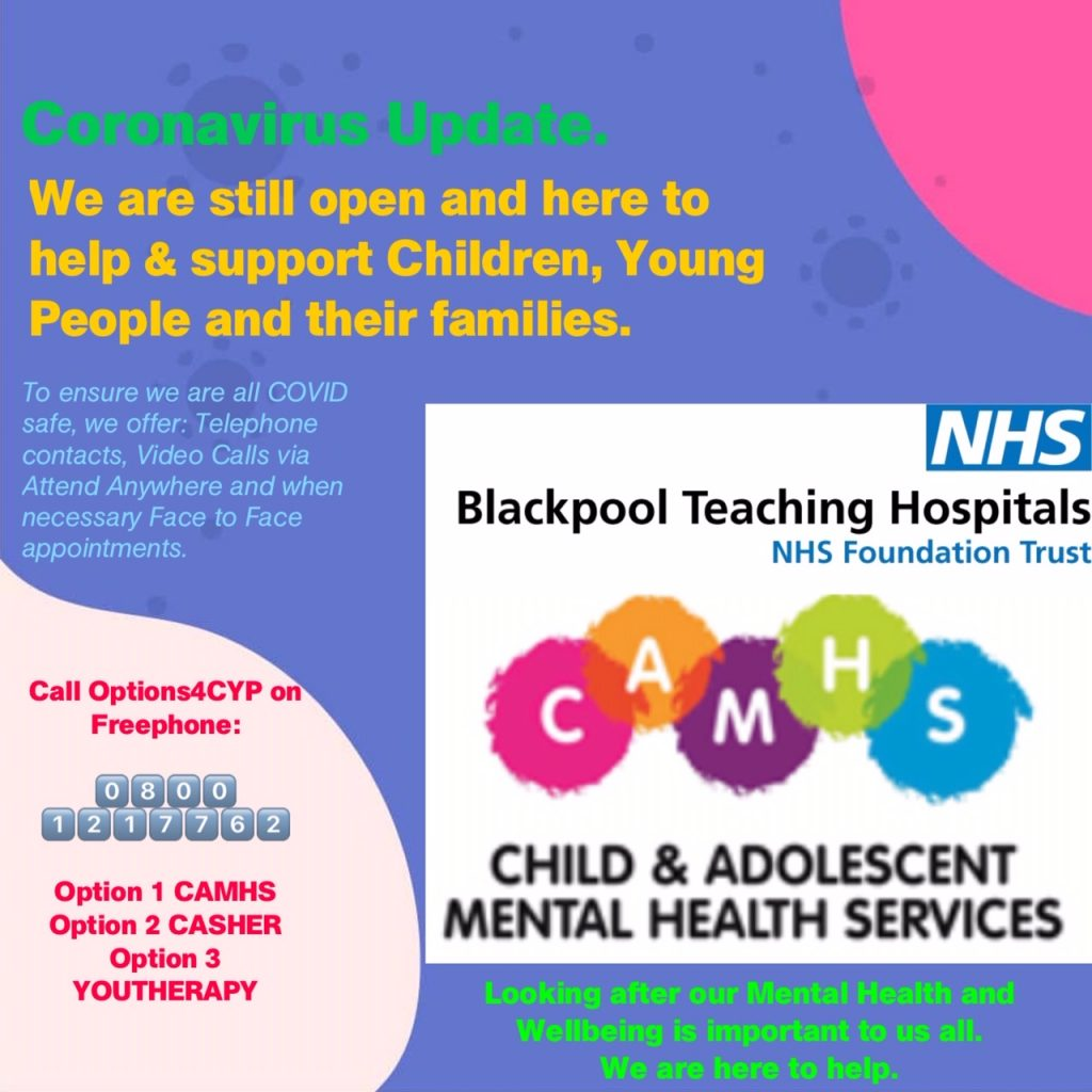 CAHMS information poster